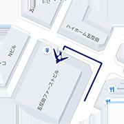 19時以降の入口の地図